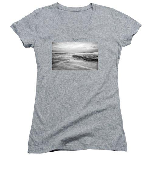 A Morning's Gift Women's V-Neck T-Shirt