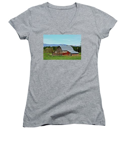A Peaceful Place Women's V-Neck