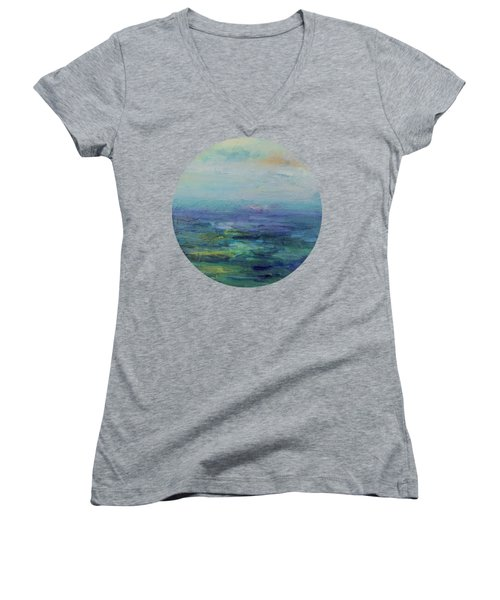 A Place For Peace Women's V-Neck