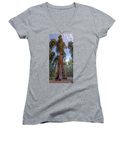 A Poem Lovely As A Tree.   Women's V-Neck T-Shirt