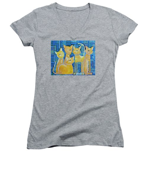 A Quorum Of Cats Women's V-Neck