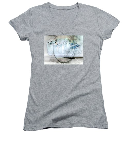 A Rainbow Of Souls Women's V-Neck T-Shirt