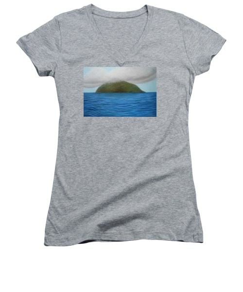 Hope- The Island  Women's V-Neck T-Shirt