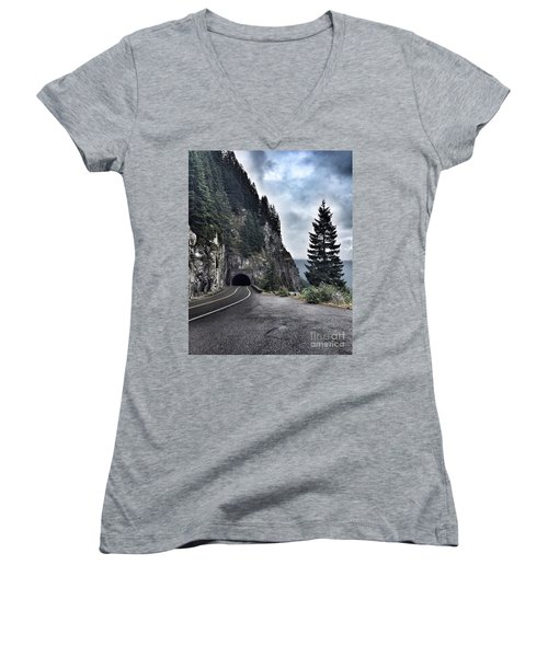A Road To Nowhere Women's V-Neck