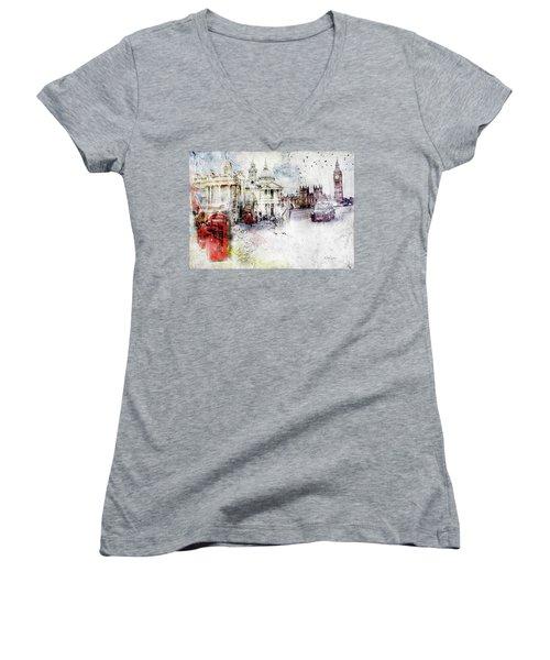 A Sense Of Time Women's V-Neck T-Shirt