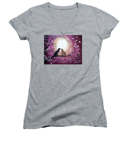 A Shared Moment Women's V-Neck T-Shirt