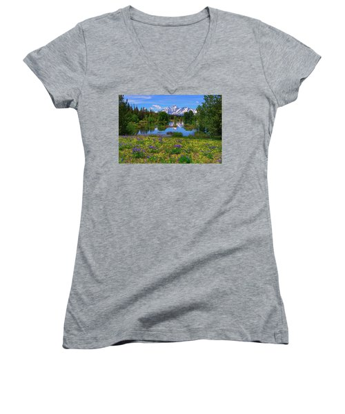 A Slice Of Heaven Women's V-Neck