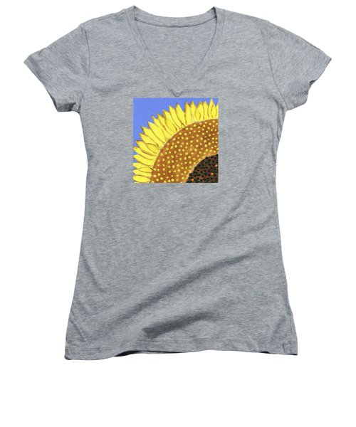 A Slice Of Sunflower Women's V-Neck