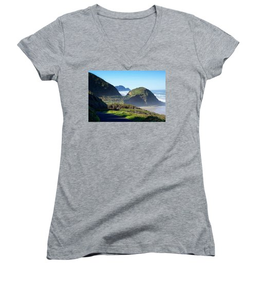 A State Of Mind Women's V-Neck (Athletic Fit)