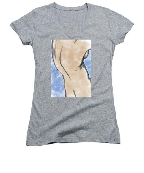 A Torso Women's V-Neck T-Shirt