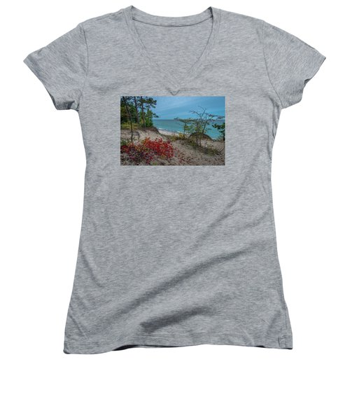 A Touch Of Color  Women's V-Neck (Athletic Fit)