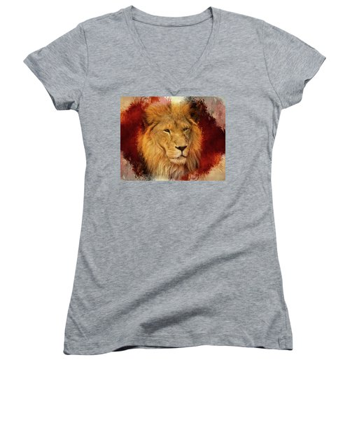 A Tribute To Asante Women's V-Neck (Athletic Fit)