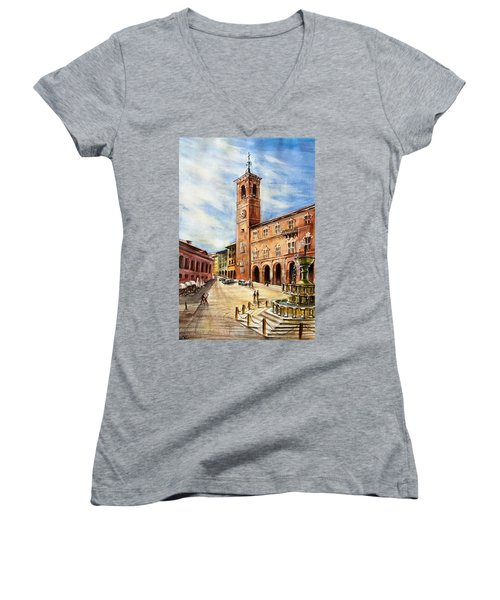 A View From Fabriano Women's V-Neck