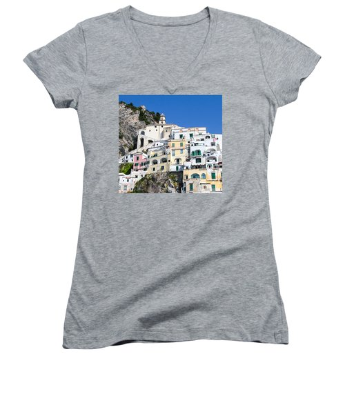 A View Of The Adratic Sea Women's V-Neck T-Shirt