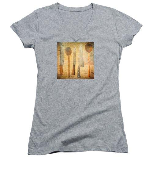 A Woman's Tools Women's V-Neck T-Shirt