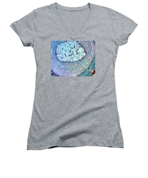 A Work Of Time Women's V-Neck (Athletic Fit)