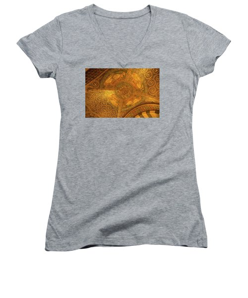 Aachen Cathedral Women's V-Neck