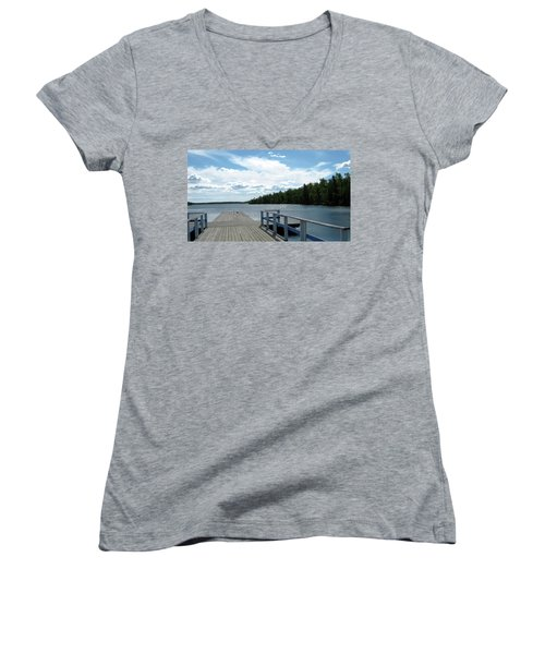 Abandoned Jetty Women's V-Neck