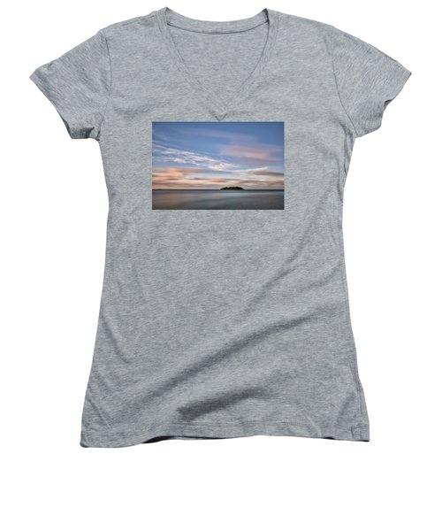 Abandoned Key Women's V-Neck T-Shirt (Junior Cut) by Jon Glaser