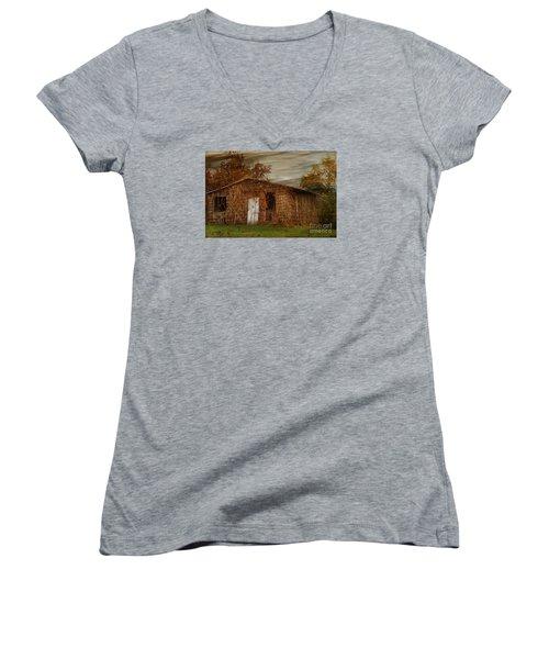 Abandoned Women's V-Neck T-Shirt