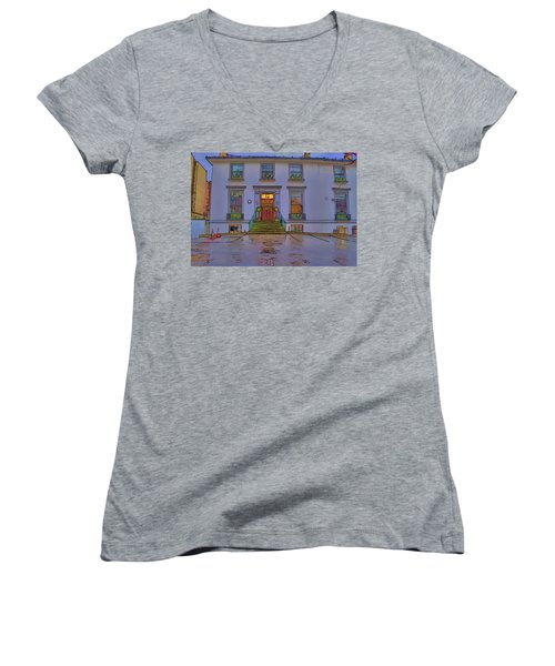 Abbey Road Recording Studios Women's V-Neck T-Shirt