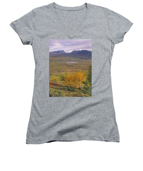 Abisko Nationalpark Women's V-Neck