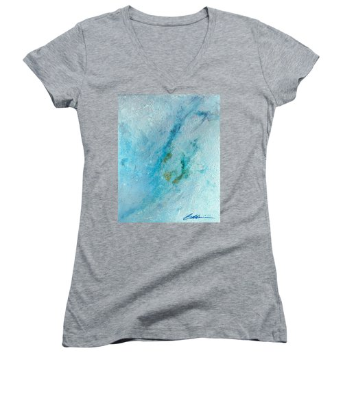 Abstract 200907 Women's V-Neck T-Shirt