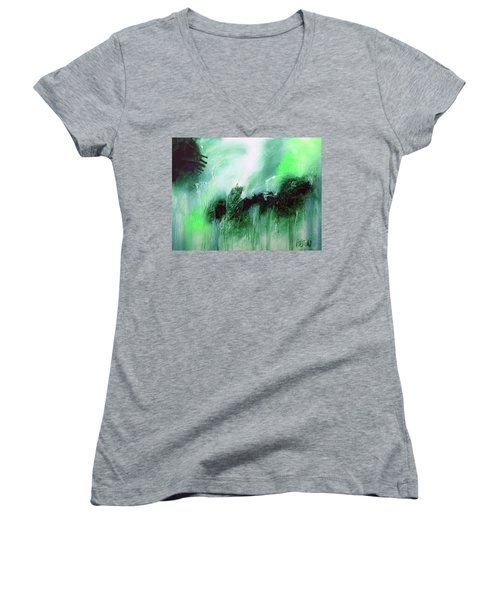 Abstract 2013013 Women's V-Neck T-Shirt