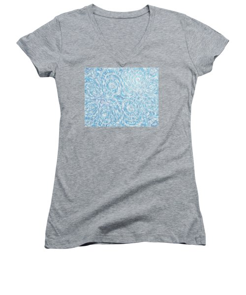 Abstract 432 Women's V-Neck