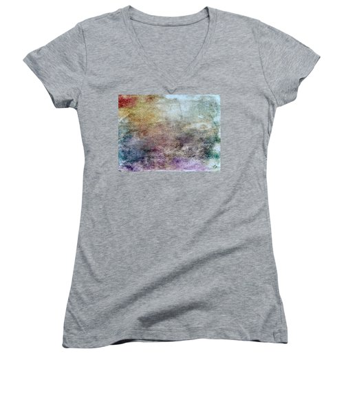 Abstract 47 Women's V-Neck