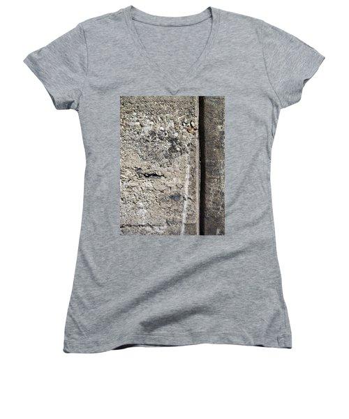 Abstract Concrete 16 Women's V-Neck