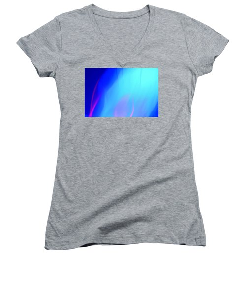 Abstract No. 10 Women's V-Neck