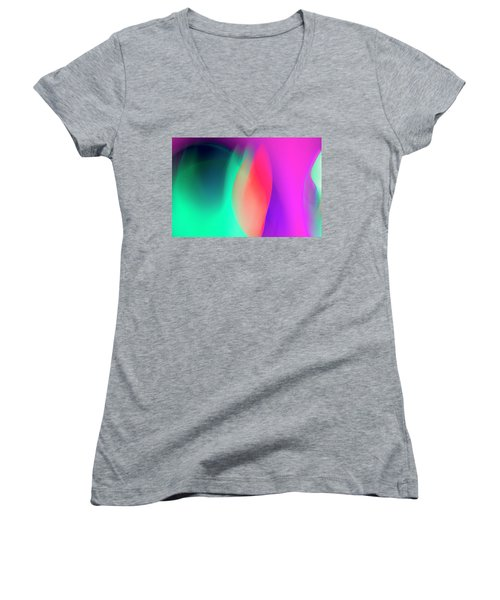 Abstract No. 6 Women's V-Neck