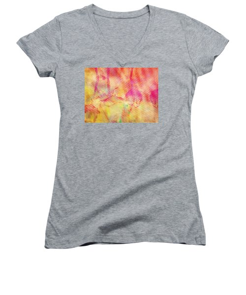 Abstract Photography 003-16 Women's V-Neck