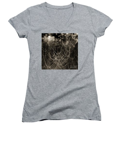 Abstractions 002 Women's V-Neck