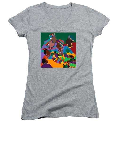 Abundance Women's V-Neck T-Shirt