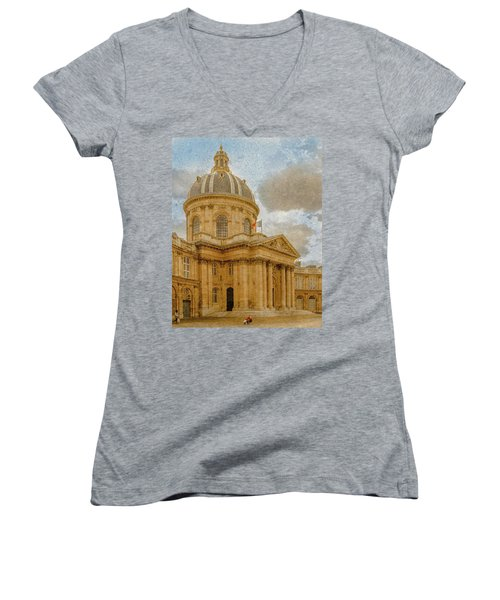Paris, France - Academie Francaise Women's V-Neck