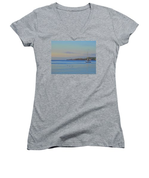 Across The Bay Women's V-Neck