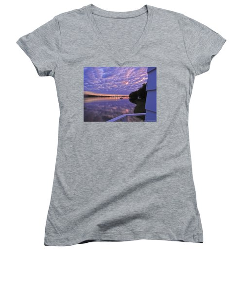 Across The River Women's V-Neck