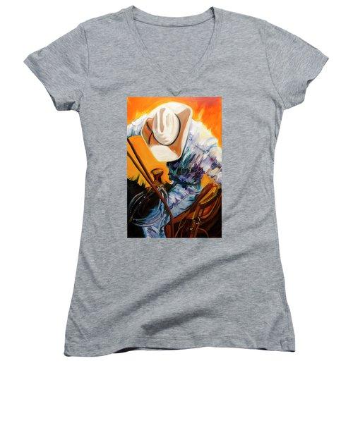 Action Jackson Women's V-Neck T-Shirt
