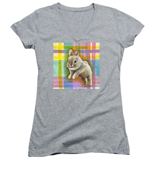 Adventure Women's V-Neck T-Shirt (Junior Cut) by Retta Stephenson
