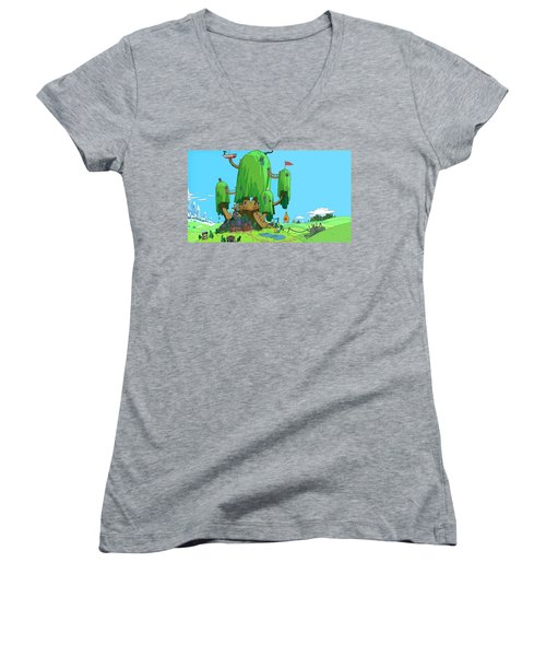 Adventure Time Women's V-Neck