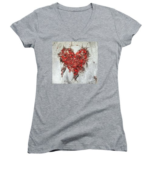 After Love Women's V-Neck (Athletic Fit)