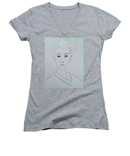 After Matisse  Women's V-Neck T-Shirt