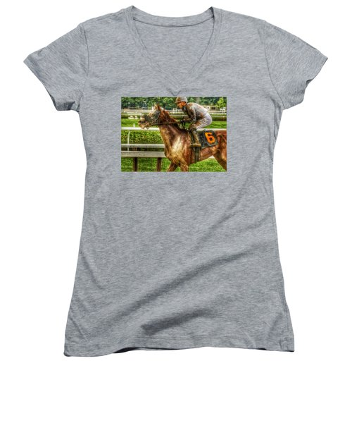 After The Mud Women's V-Neck (Athletic Fit)