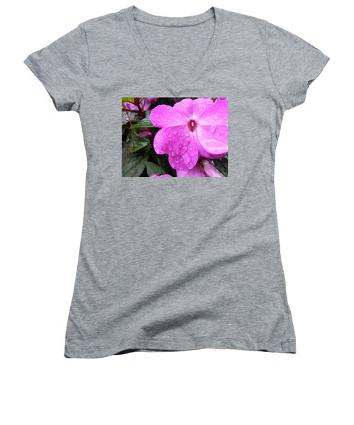 Women's V-Neck featuring the photograph After The Rain by Robert Knight