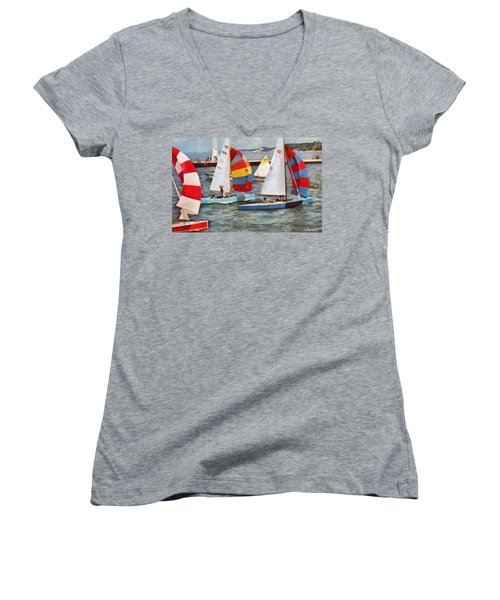 After The Regatta  Women's V-Neck