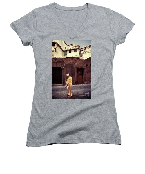 Afternoon Stroll Women's V-Neck