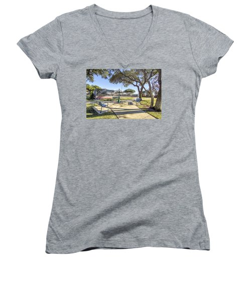 Afternoon Tennis Women's V-Neck T-Shirt