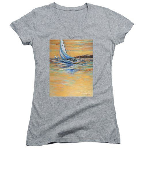 Afternoon Winds Women's V-Neck